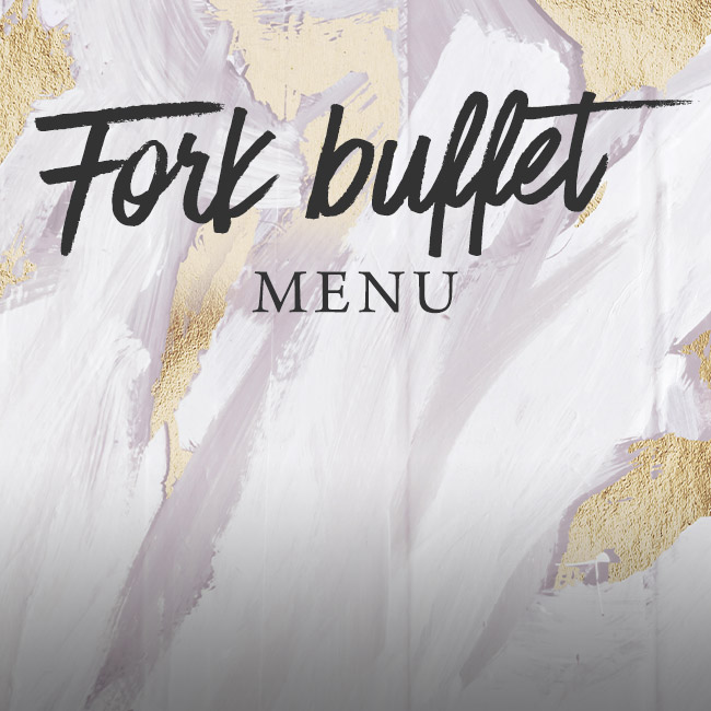 Fork buffet menu at The Pheasant