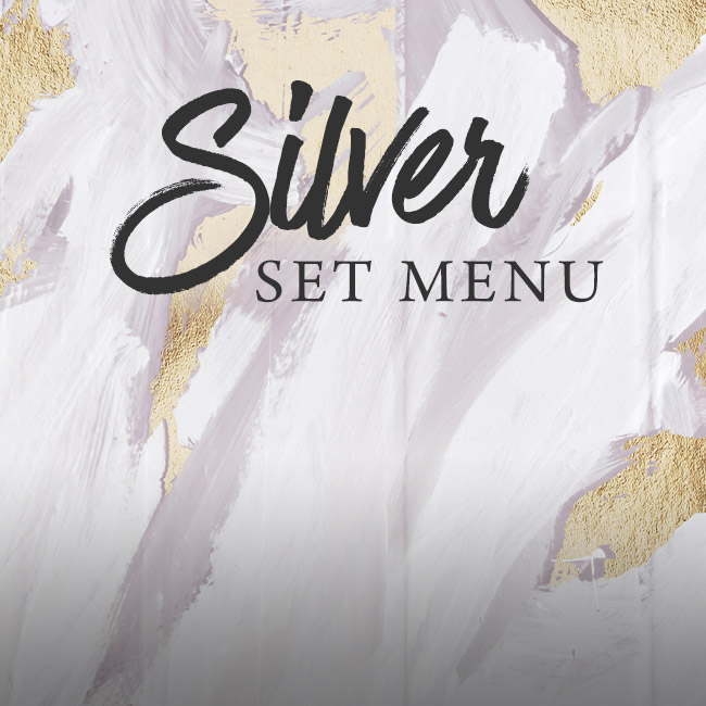 Silver set menu at The Pheasant