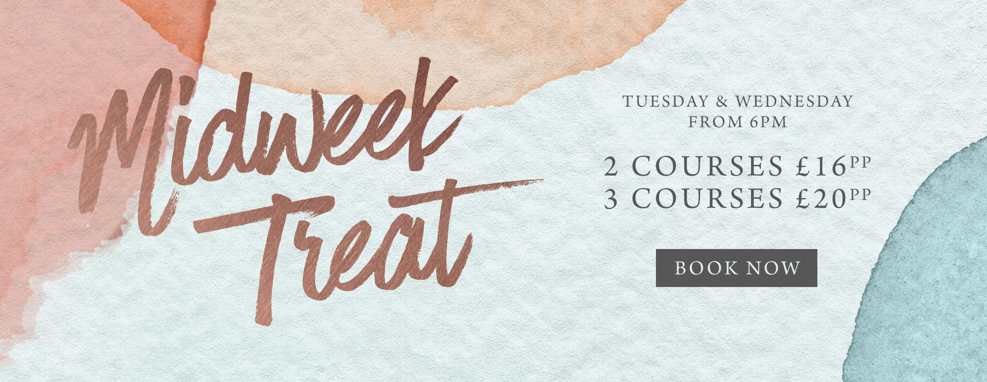 Midweek treat at The Pheasant - Book now